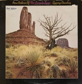 New Riders Of The Purple Sage ‎- Gypsy Cowboy (LP) (G++/G+)